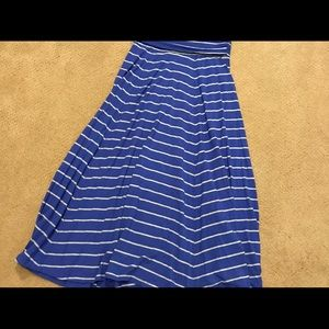 Gap stilted maxi skirt